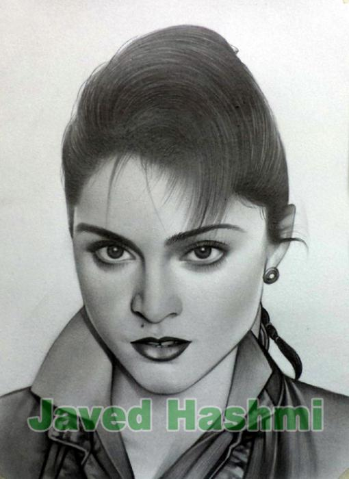 Madonna by javed_hashmi742005